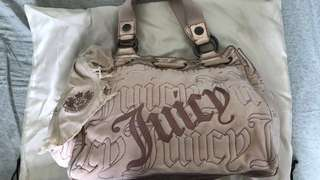 Juicy couture 粉紅絨袋