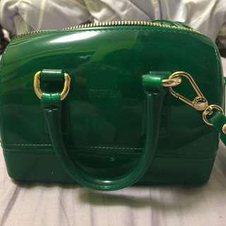 Furla green bag