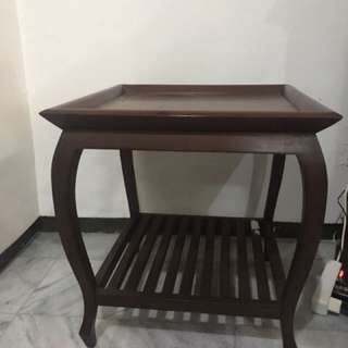Wood side table (there are 2 pieces)