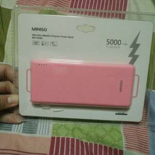 Miniso 5000 mAh Power Bank