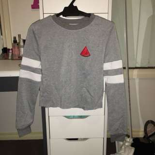 Valley girl cropped jumpers