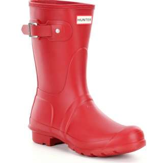 Hunter Short Matte Rain Boots (Adult)