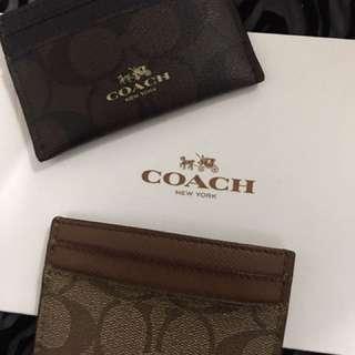 Coach咭片銀包仔