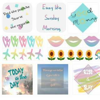 Planner Stickers (Motivational Pack)