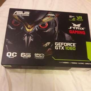 ASUS STRIX GEFORCE GTX 1060 6GB OC VR