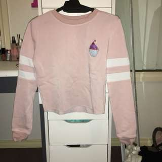 Valley girl cropped jumper