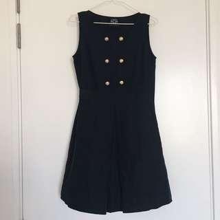 Dude & The Duchess Black Dress