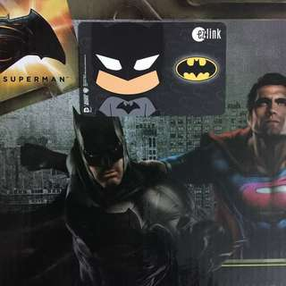 Limited Edition brand new DC Comics Batman Design ezlink Card For $19.