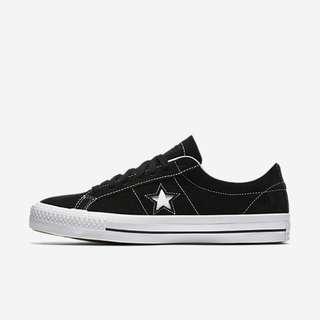 Converse One Star Black White deaeacef0