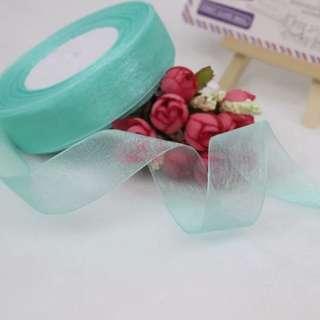 Tiffany blue ribbon