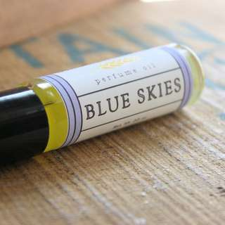 Long Winter Soap Co. Blue Skies Roll On Perfume Oil