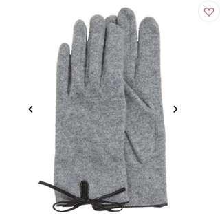 HM H&M 羊毛混紡手套 保暖手套 羊毛手套 羊毛針織手套~新年禮物 聖誕禮物 交換禮物 跨年裝扮