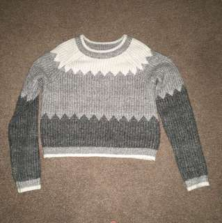 Dotti cropped knitted jumper