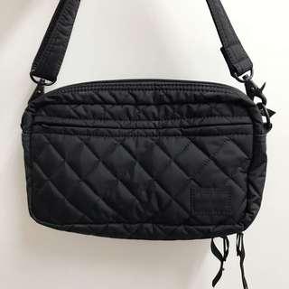 Head Porter shoulder bag 9成新 black beauty