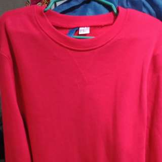 H&M sweatshirt/pull over (Red)
