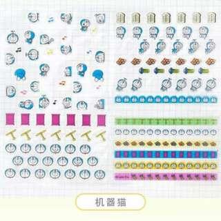 [PO] Doraemon Mini Stickers
