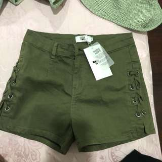 Temt army hot pants