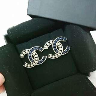 Chanel CC耳環