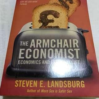 Book - The Armchair Economist - Steven E. Landsburg