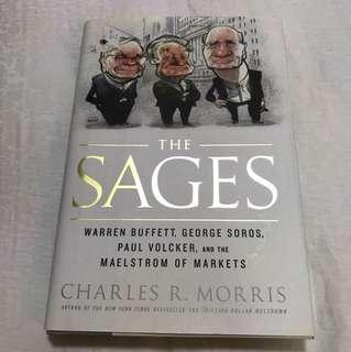 Book - The Sages - Warren Buffet, George Soros, Paul Vocker - Charles Morris