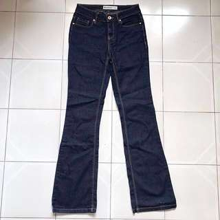 New Look Bootcut Jeans (Dark Blue)
