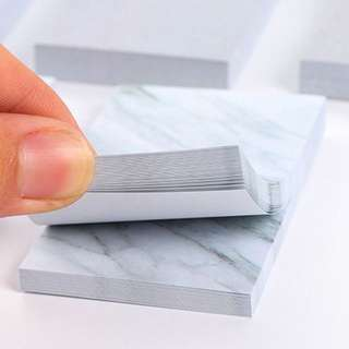 INSTOCK Marble Post It Mini BN Sticky Notes Memo Pad
