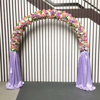 Flower Arch for Rent / Floral Arch for Event Deco / Wedding Arch in Artificial Flowers