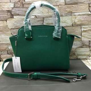 CHARLES AND KEITH AUTHENTIC HAND/SLING BAG