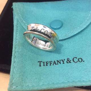 Tiffany & Co. 1837 Sterling Silver Ring 純銀戒指