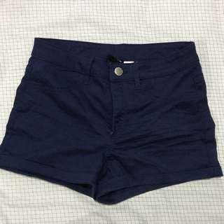 {H&M} Celana pendek Navy