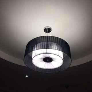 100% New 布藝北歐風客廳飯廳吊燈