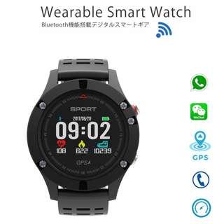 GPS Smart Watch 智能手錶 - WHATSAPP WECHAT 信息顯示/來電顯示/高度溫度 / 心跳監測/卡路里 /計步/睡眠監測 IP67