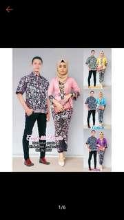 Batik Kurung Couple Set