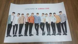 Wanna One Lenshine Posters