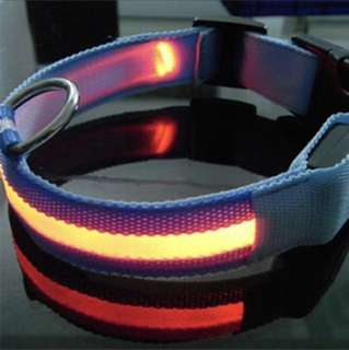LED Night Safety Collar for Dogs