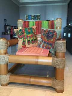 Big bamboo chair for sale!