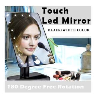 🌹 TOUCH LED MAKEUP MIRROR