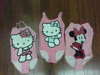 Hello Kitty Swim Wear (3 pcs in 1 price)