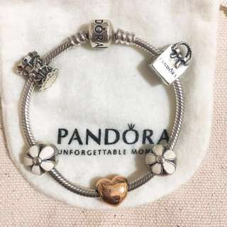 Pandora 16cm 銀鏈組合