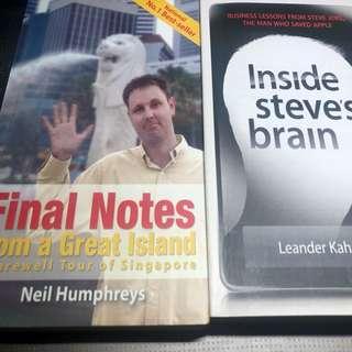 Steve Jobs & Neil Humphrey's Books