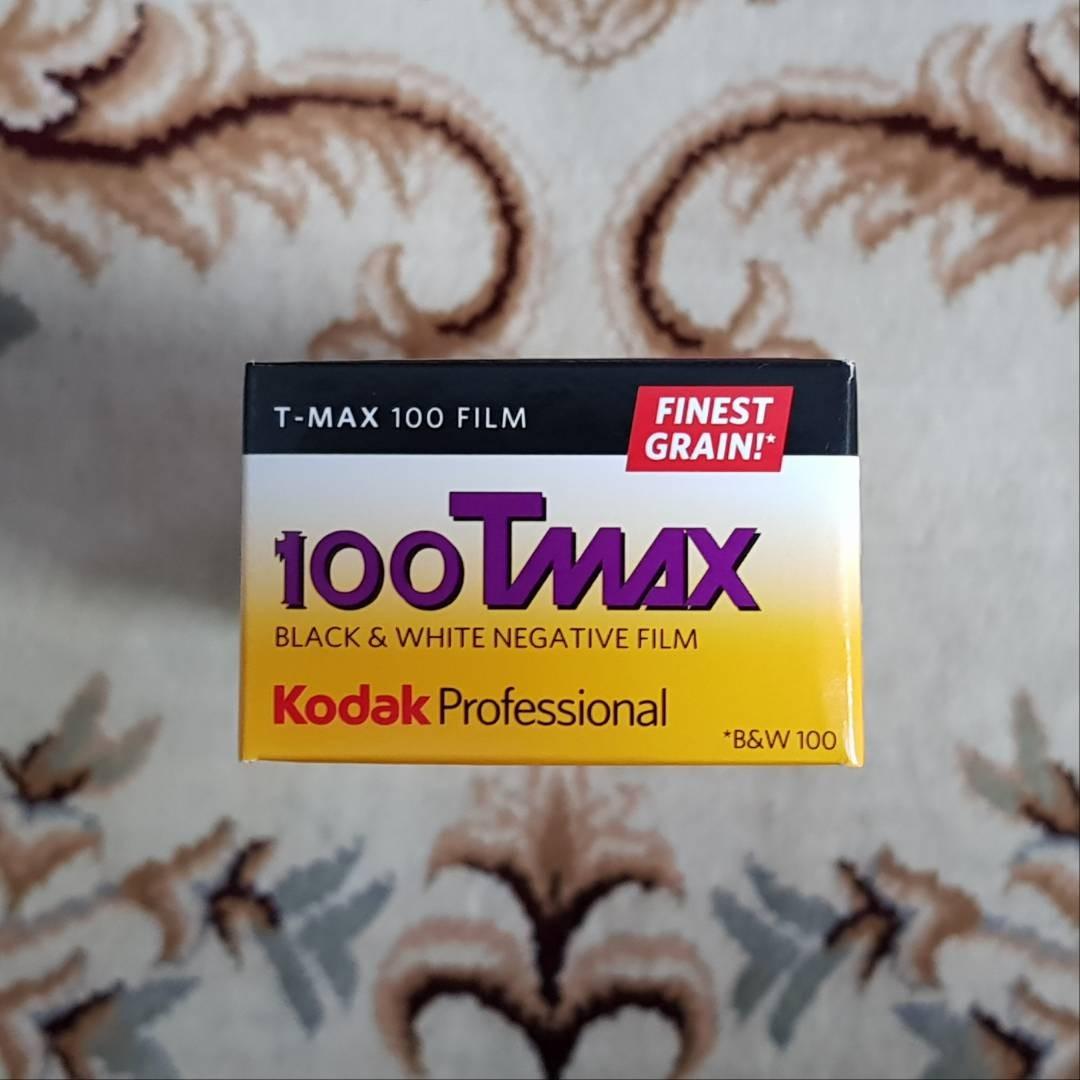 35mm Kodak TMAX 100 Black & White Film aka 100Tmax ( iso 100 ) 135 format