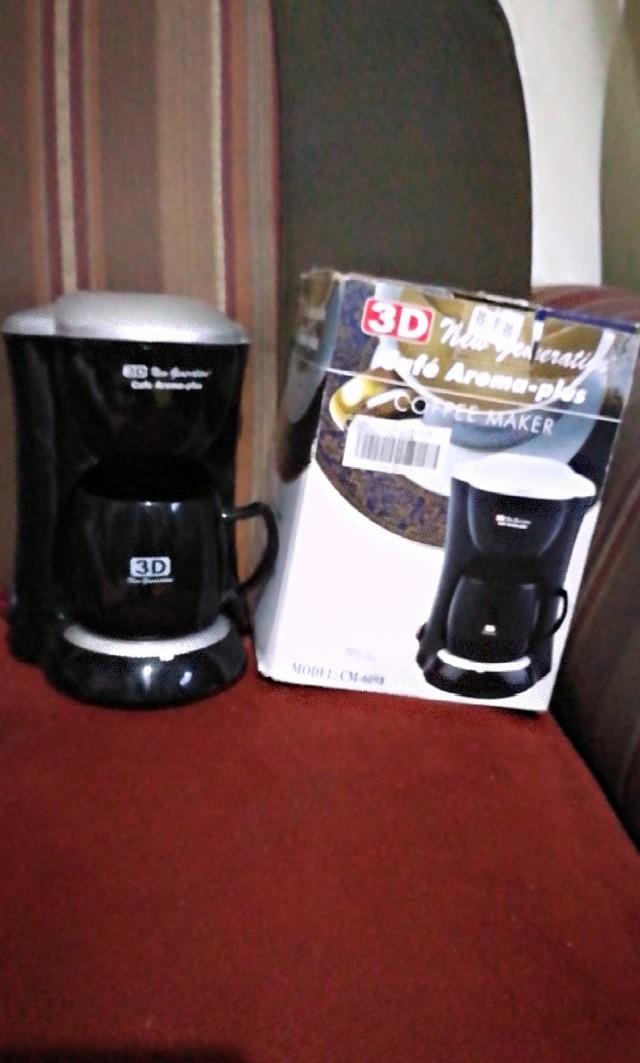 3D new generation coffee maker