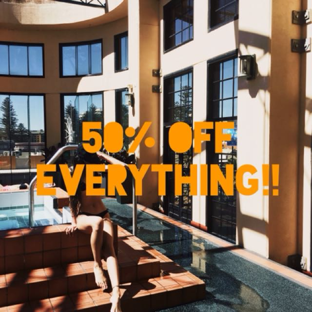 50 % Off everything!!!!!!