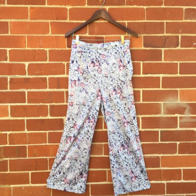 70's polyester Highwaisted flares