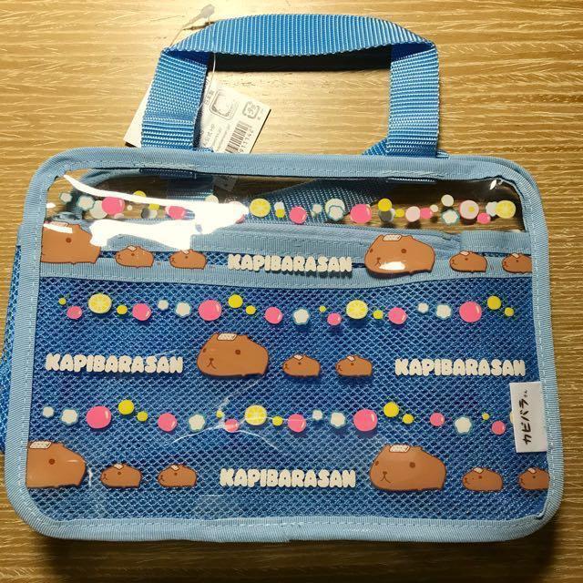 水豚君提袋(日本製)(市價$715)#幫我除舊佈新