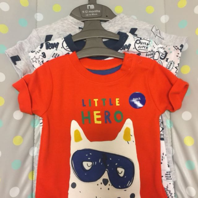 c12274bbb984 9-12 month old boys t-shirts, Babies & Kids, Boys' Apparel on Carousell