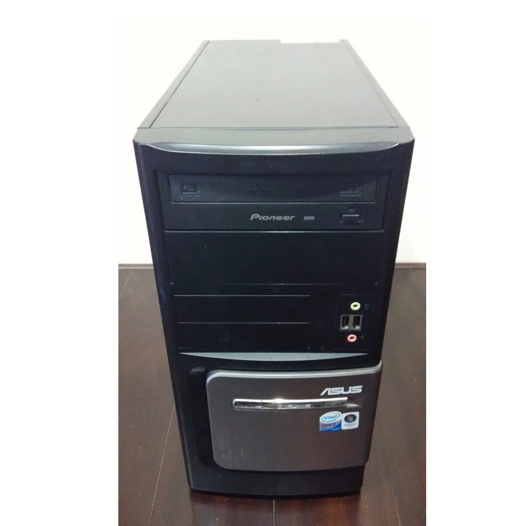 開機即用 1080P HD影片 文書輕遊戲電腦主機