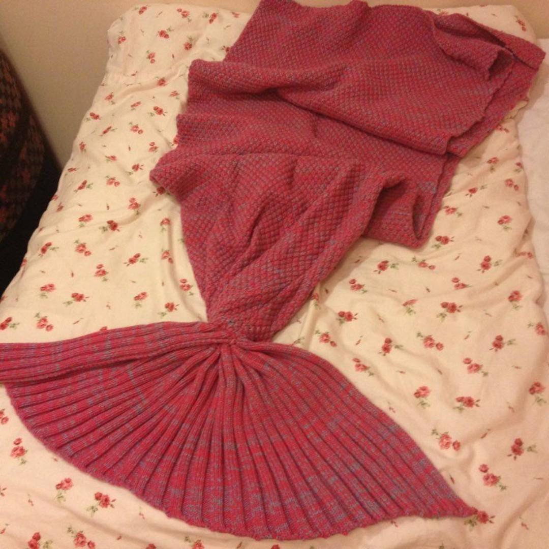 美人魚毛毯