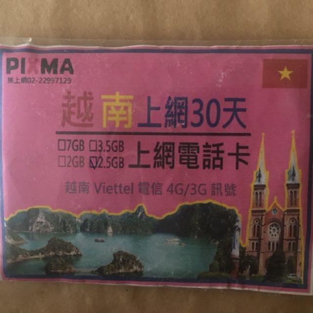 越南網路卡