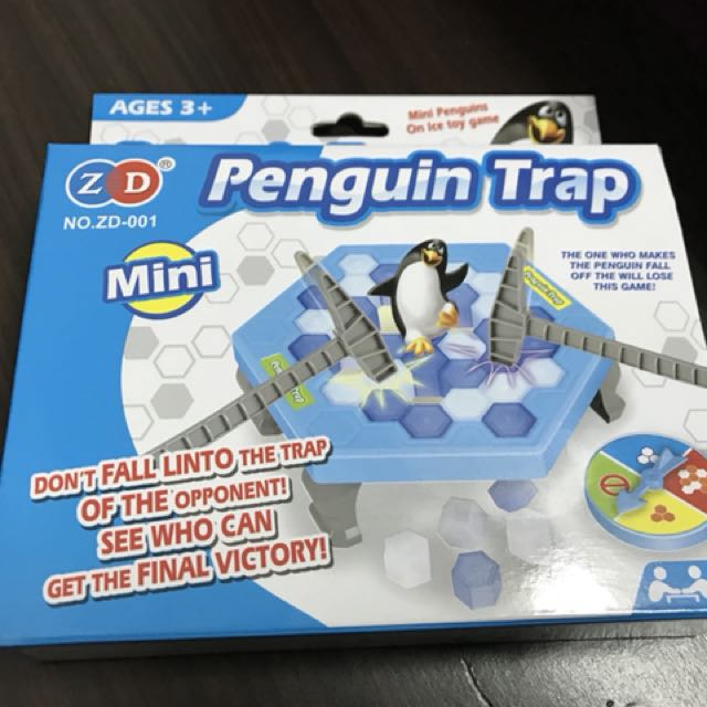 企鵝益智玩具